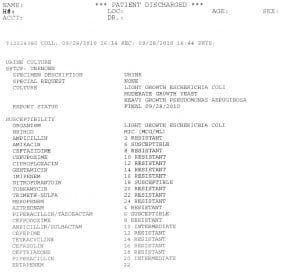 Microbiology Unknown Lab Report Example