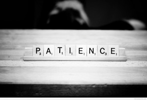 Patience Quotes HD Wallpaper 15