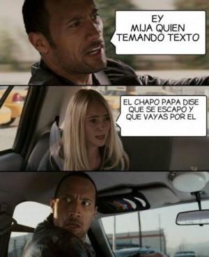 Los memes de la fuga del Chapo Guzmán