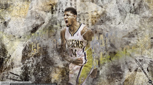 pacers paul george cool slam dunk paul george indiana pacers