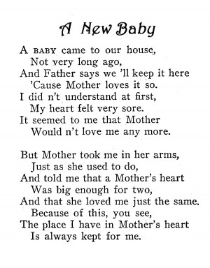 poems about love for a newborn baby