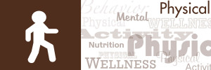 Physical Wellness Word-Cloud Banner
