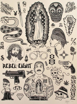 Chicano Culture Drawings