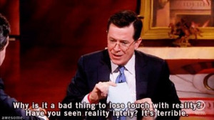 funny stephen colbert quotes