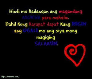 01/08/14--05:29: Tagalog Love Quotes 2014