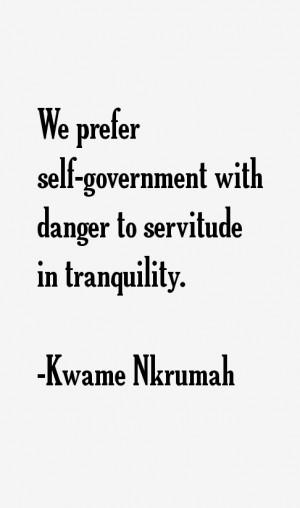 Kwame Nkrumah Quotes & Sayings