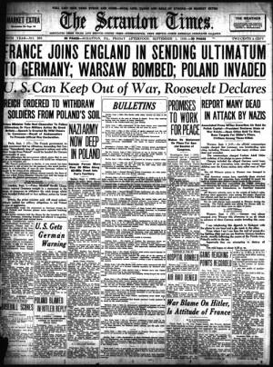 on sept 1 1939 world war ii began as nazi germany invaded poland