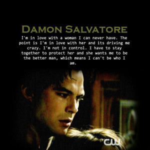 Here are some of his quotes from the series - The Vampire Diaries