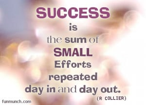 Success Quotes Comments