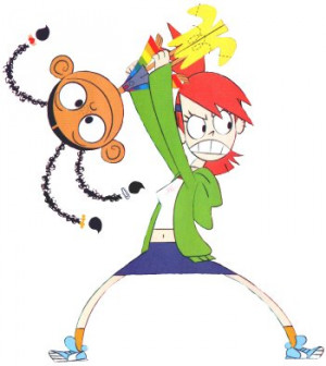 She's gonna hurt Goo! - http://www.fosters-home.com/clipart ...