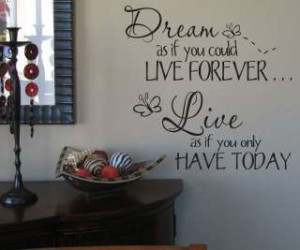 WallWords Wall Quotes Lettering Vinyl Words Decor Art