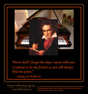 Beethoven Quotes Project fellowship images 1