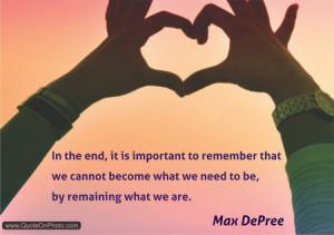 Max DePree