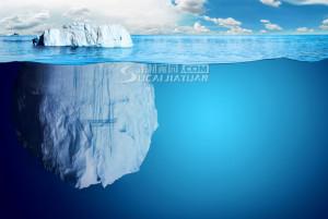 关键词: 海洋冰山一角高清图片素材 海洋横截面 ...
