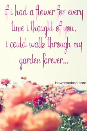 Quote Garden Love