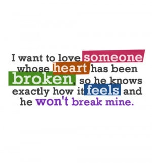 how to love someone who is broken