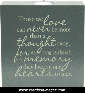 Sympathy Card Poems and Quotes