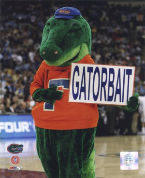 University Florida Gators Mascot Albert Gator Unknown