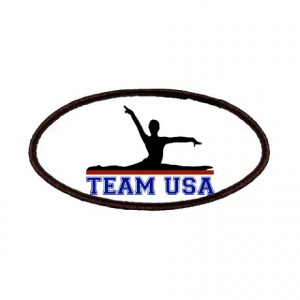 2012 Gifts > 2012 Patches > Team USA Gymnastics Patches