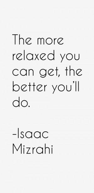 Isaac Mizrahi Quotes amp Sayings