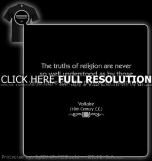 voltaire, quotes, sayings, truths of religion, true