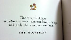The Alchemist Picture Quote