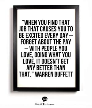 Inspiration from Warren Buffett on careers, leadership, and mentorship