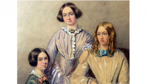 ... Bronte sisters, which is the latest in the series of unrelated items