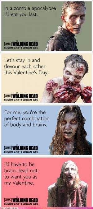The Walking Dead Valentine's Day Cards photo 1