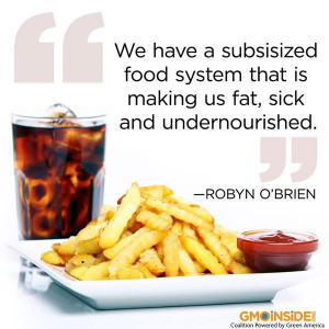 Thank you Robyn O'Brien! Join GMO Inside in changing the food supply ...