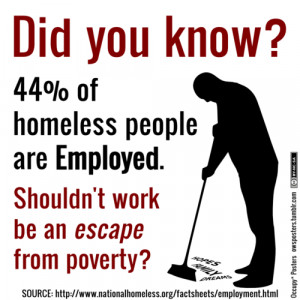 Those Lazy, Working–I Mean, Err–Mooching, Homeless