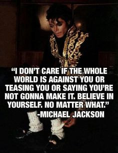 Image detail for -michael jackson quotes More
