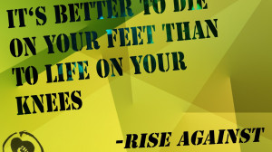Media RSS Feed Report media Rise Against - Awesome band (view original ...