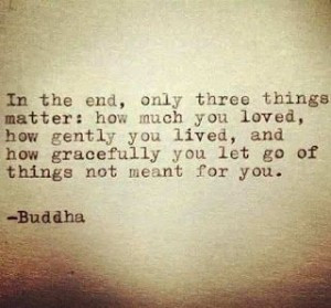 Moving on quote - Buddha