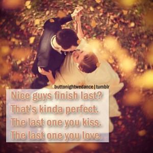 Nice guys finish last quote