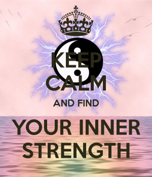 Keep Calm And Give Strength