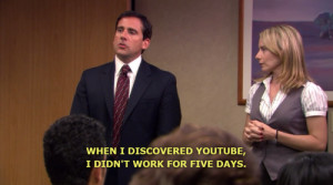 the office michael scott steve carell funny quotes when i discovered ...