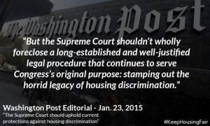 Washington Post editorial quote