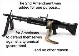 the 2nd amendment was added for one purpose The 2nd Amendment Was ...