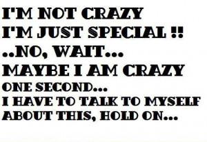 not crazy — 2 Comments