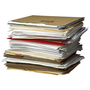 ... to clean out offices, purge old documents, and/or update your files