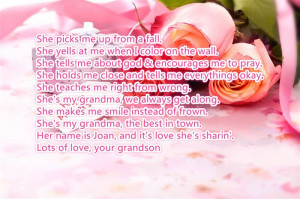 Meaningful Happy Mother's Day 2015 Poems For Grandma From Grandson