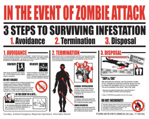 Zombie Tips for an Apocalypse