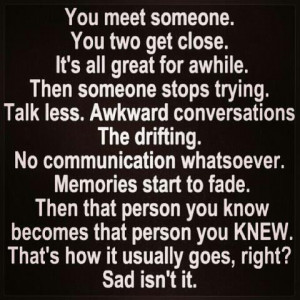sad, awkward, memories, love, pretty, quotes, quote, cute, sad it is