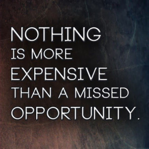 ... expensive than a missed opportunity. | Anonymous ART of Revolution