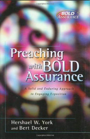 Recently, I re-read Preaching with Bold Assurance which was one of my ...