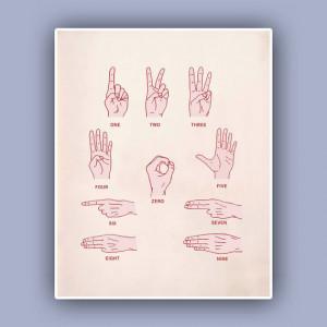 Plongée sous-marine Communication Print, Deep Sea signe art ...