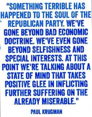 Paul Krugman quote.