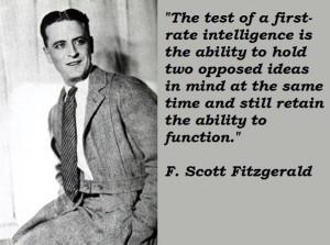 scott fitzgerald famous quotes 1