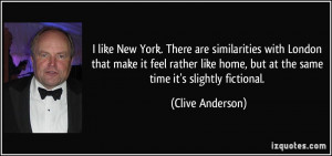 More Clive Anderson Quotes